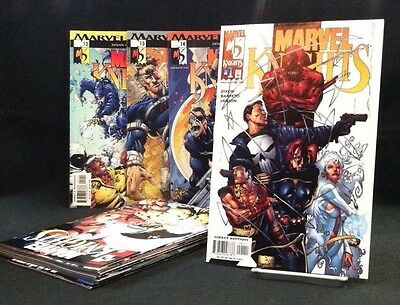 Marvel Knights 1-14 COMPLETE SET 2000 Mini Series Daredevil Punisher