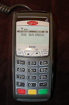 Ingenico ICT220 Credit Card Terminal with Chip Reader
