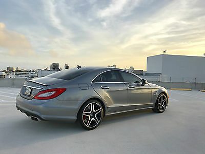 2013 Mercedes-Benz CLS-Class Coupe 2013 CLS63 AMG w/ Performance Package