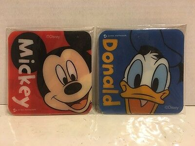 Disney X Avex Japan Limited Edition Coaster Set Of 6