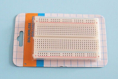 High Quality Solderless Breadboard 400 Contacts Electronic PCB Test Bread Board