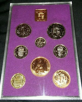 1970 Coinage of Great Britain and Northern Ireland Proof Set - w/ Box & COA