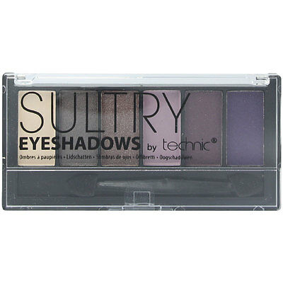 Technic Sultry 6 Colour Eyeshadow Palette - After Dark