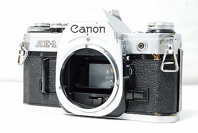 Canon AE-1 35mm SLR Film Camera Body Only  SN3445045  **Excellent+**