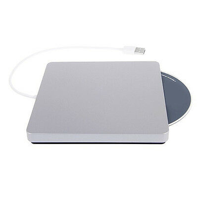 USB 2.0 CD-RW DVD RW Brenner Writer Laufwerk extern für Apple Air MacBook Pro