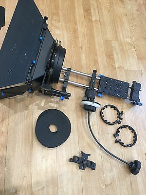 Redrock micro follow focus with whip including Matte box and flag