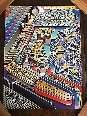 Christmas Jam Poster SIGNED BY WARREN!!! 12/13/13 Poster Widespread Panic Print