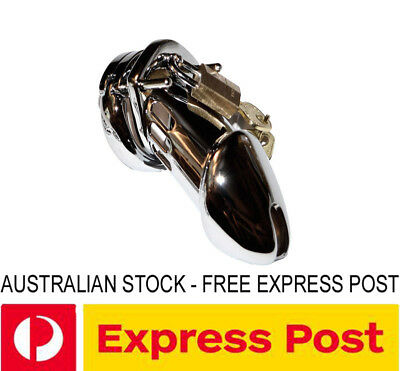 CS7-L High Security Steel Chastity Device GENUINE Master Lock LARGE *IN STOCK*