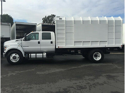 New Ford F650 Crew Cab Chipper Dump Truck Freightliner International Hino Kw Ud