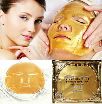 Premium Crystal Collagen Gold Powder Eye Masks Face Mask Pad Anti Ageing Wrinkle