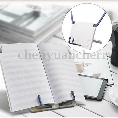 Adjustable Folding Desktop Sheet Music Stand Holder Home Book Reading Stand