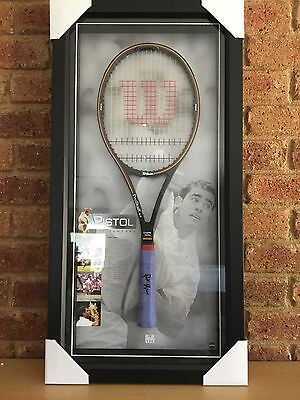 Pete Sampras - Personally Hand Signed Racquet With PWC COA