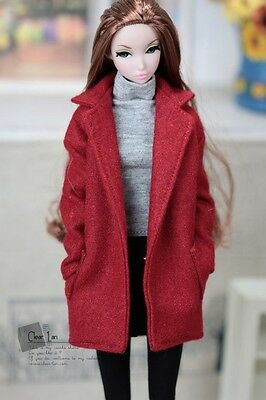 Momoko MMK Doll Outfit Red Coat