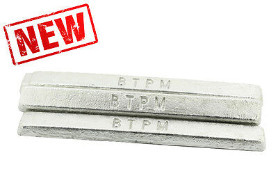 1Kg Premium Pewter Ingot Bar White Metal for casting. Buy From THE EXPERTS