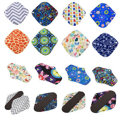 S/M/L Reusable Panty Liner Washable Menstrual Pads Cotton Cloth Mama Health Mats