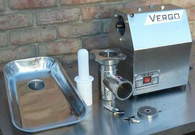 Brand New Commercial Butcher's Meat Grinder Mincer 150 Kg/hr production