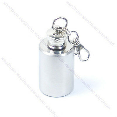 New 1 Oz Stainless Steel Hip Liquor Alcohol Drink Party Flask Mini Funnel