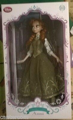 New Disney Store Exclusive Frozen Anna Limited Edition Doll 1-5000