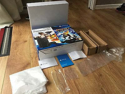 Sony Playstation 4 PS4 500GB slim (Empty Box Only With Bags And Manuals)