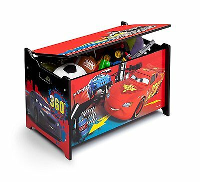 Delta Disney Cars Pixar Metal Frame Multi-Bin Organizer (Red) For Kids Children