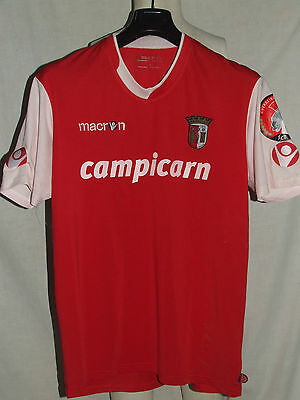MAGLIA CALCIO SHIRT TRIKOT CAMISETA MATCH WORN SPORTING BRAGA FRIENDLY n°18