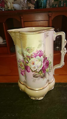 Stunning ~ Has a Moulded Rose on the Side ~ JUG!! for Water, Cream or Milk?