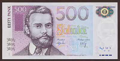 Estland / Estonia 500 Kronen 2000 Pick 83 (1)