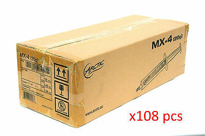 Lot of 108 Arctic Cooling MX-4 Thermal Compound 20g Tube *FACTORY BOX*