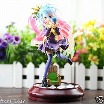 Hot!No game no life Imanity Shiro 1/7 scale painted Anime pvc figure in Box