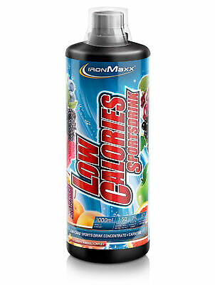 (11,71EUR/L) Ironmaxx - Low Calories Sportsdrink 1 Liter