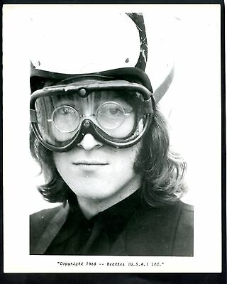 The Beatles Usa Fan Club Promotional Photo Of John Lennon Dated 1968 See Scan
