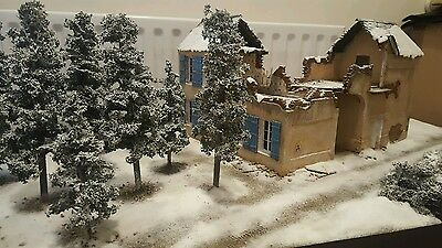 Winter Diorama WW2 Battle Bulge German US British Commandos Russian East Front