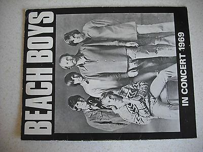 Beach Boys May/June 1969 UK tour programme, original