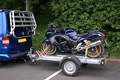 Motorcycle Trailer Hire Track Day Motorcross Trials Pick up Delivery