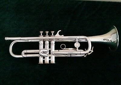 Beautiful Refurbished Silver Plated Vintage Leblanc Large Bore Medallion Trumpet