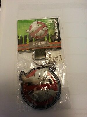 Ghostbusters Ghost Logo Keychain (Light Up - Promo - New -& RARE)