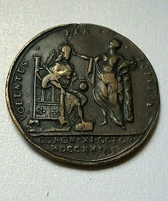1726 George Ii Coronation Medal
