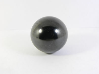 Shungite stone sphere (49 mm) from Russia