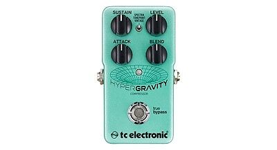 TC Electronic HyperGravity Compressor TonePrint Guitar Effect Pedal