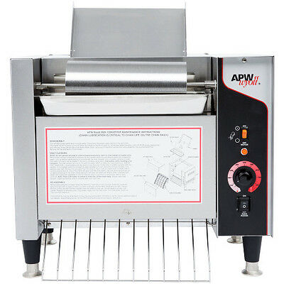 APW Wyott M-2000 Electric Countertop Bun Grill Conveyor Toaster