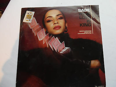 "Sade - Your Love Is King / Smooth Operator 12"" Vinyl Single 1984 Epic Records"