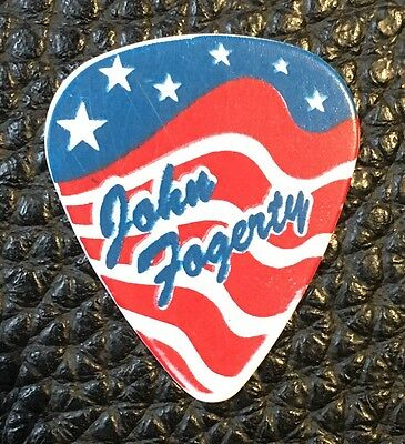 Guitar Pick - John Fogerty -  Real Stage Used Custom Tour Pick!