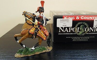 Waterloo NA66 Napoleonic Mounted Horse Artillery Officer Mint Box French British