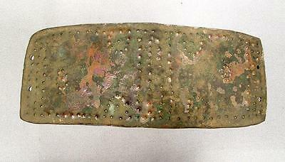 Ancient  Celtic  Bronze Belt  Buckle For  Armour about 800 to 475 BC
