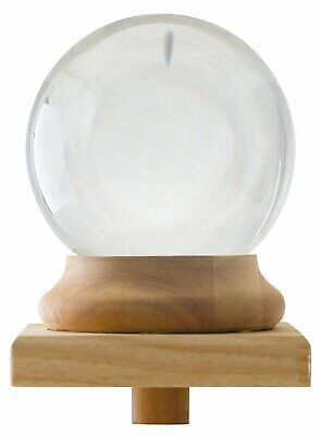 "Amlong Crystal Newel Post Cap Final - 6"" (150mm) Crystal Ball - USA Seller!!"