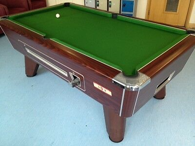 New £1 Coin Slot In Our Straight Six Mechanism For Your Pool Table **superpool**