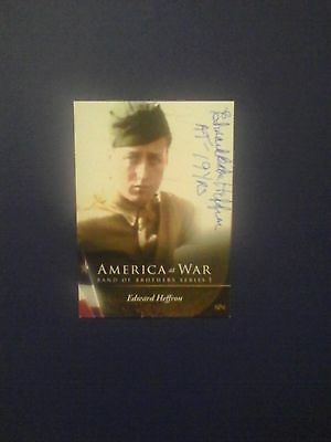 Babe Heffron autographed trading card Band of Brothers