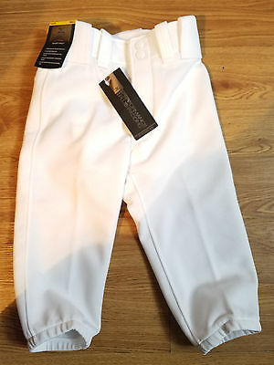 Mizuno Youth WHITE Select Short Pant Size= Youth Small 15835
