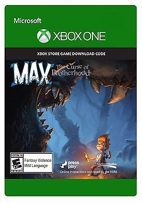 Max: The Curse of Brotherhood | XBOX One Download Key Code | Region-free