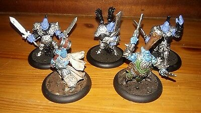WARMACHINE HORDES TROLLBLOODS GRISSEL, FELL CALLER HERO and SONS OF BRAGG!